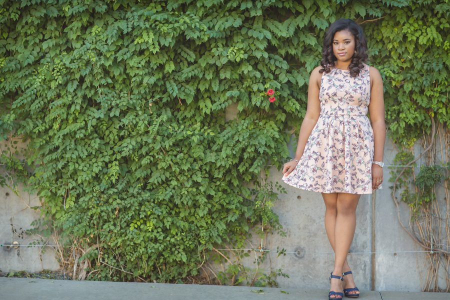 Frisco High School Senior Photos Kalela Dress