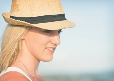 Frisco Senior Girl in fedora